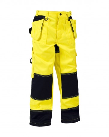 Blåkläder Kinderbroek High vis