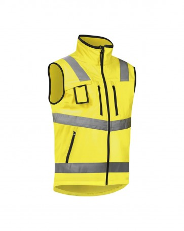 Blåkläder Softshell vest High vis