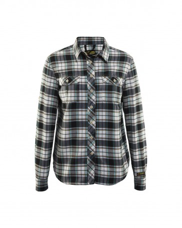 Blåkläder Overhemd flanel Dames