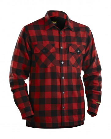 Blåkläder Overhemd Flanel, Gevoerd