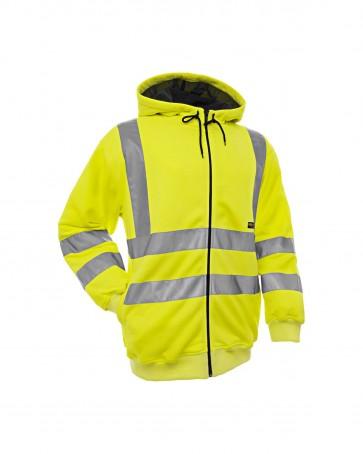 Blåkläder Hooded Sweatshirt High vis