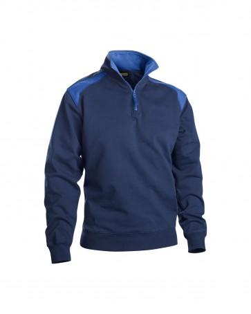 Blåkläder Sweater halve rits