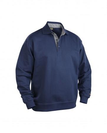 Blåkläder Polo Sweatshirt