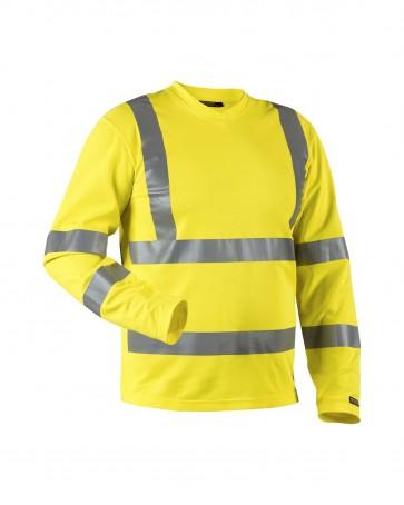 Blåkläder T-shirt High vis lange mouw UPF 50+ UV