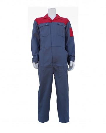 Bestex Overall Korenblauw - Marineblauw