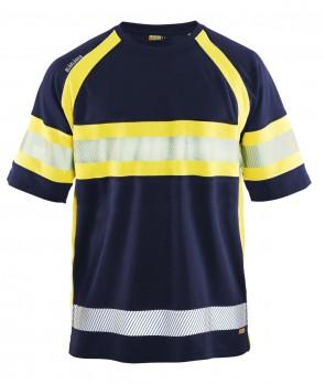 Blåkläder High vis T-shirt klasse 1