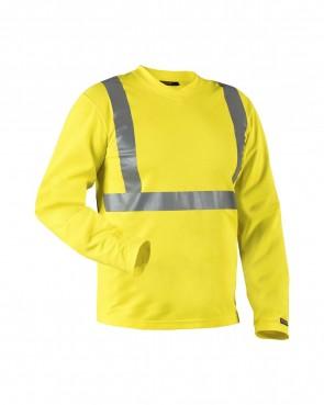 Blåkläder High vis T-shirt lange mouw