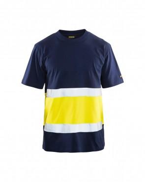Blåkläder T-shirt High vis klasse 1