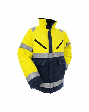 Blåkläder Winterjas High vis