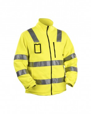 Blåkläder Fleecejas High vis