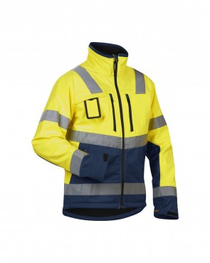 Blåkläder Jas Softshell High vis