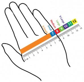 De laatste snijbestendige handschoenen (snij-5)