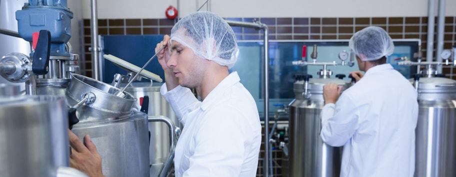 Kleding voor de voedsel producerende en verwerkende industrie